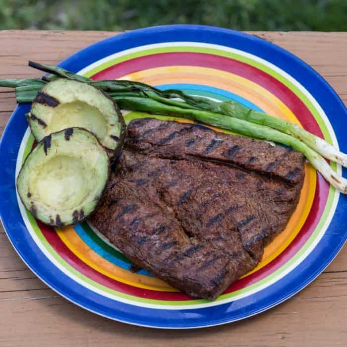 Easy Camping Recipe - Grilled Tenderloin Churrasco Style