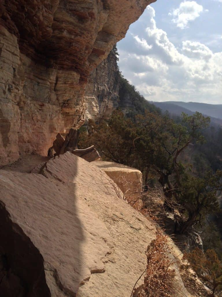 The Goat Trail on the Buffalo River