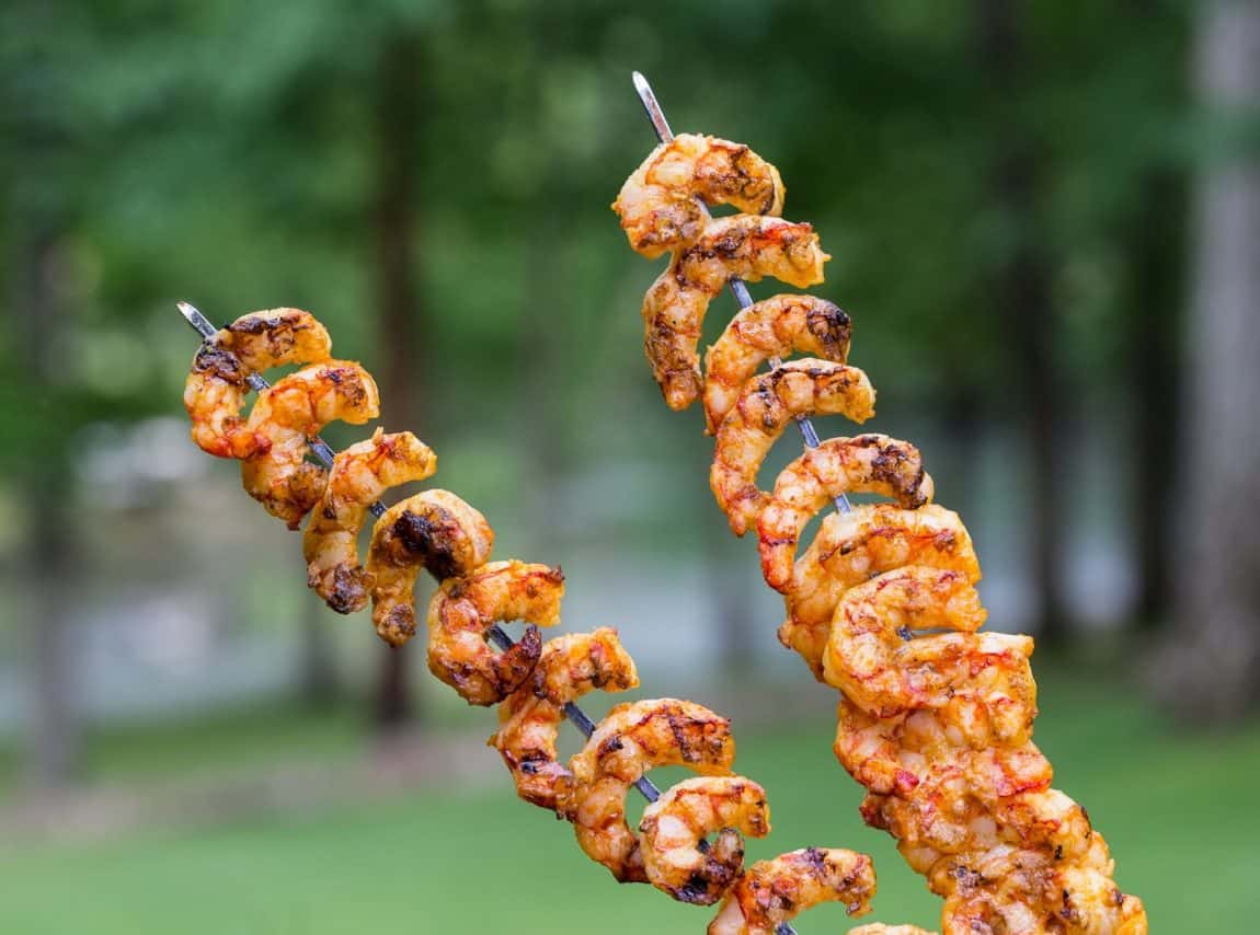Curry Grilled Shrimp Camping Recipe
