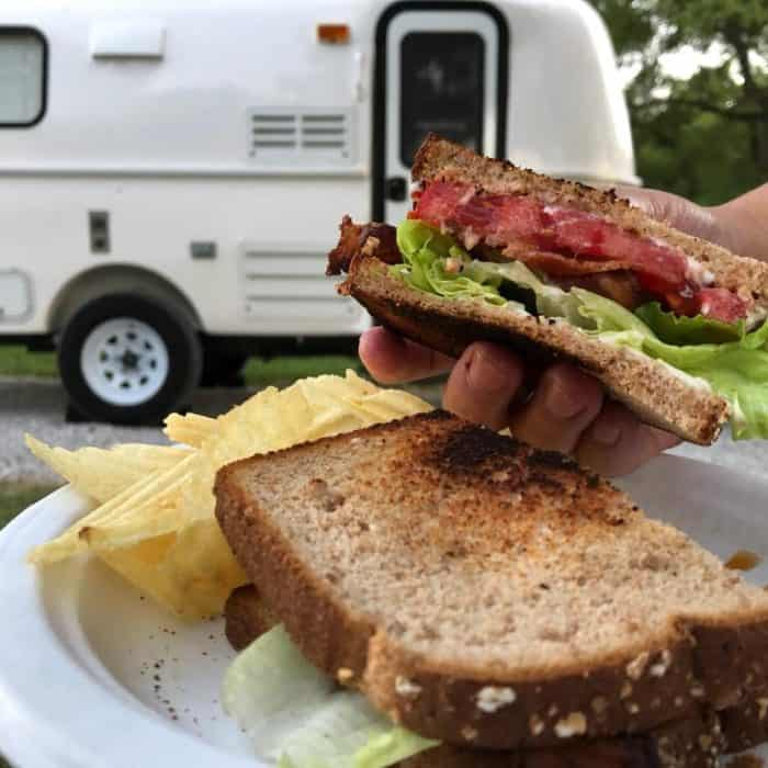 Easy Camping Meal